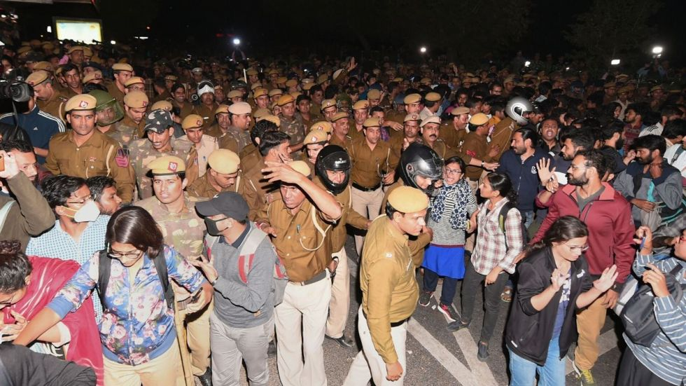 Earlier in the day, the Delhi Police lodged an FIR under the relevant provisions of law at the Kishangarh police station, but did not divulge the details.