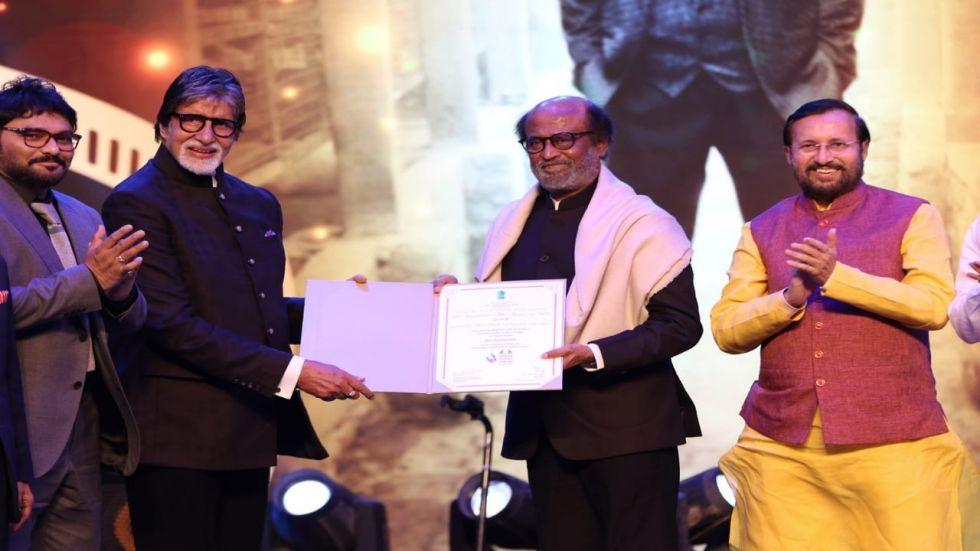 IFFI 2019: Rajinikanth Receives Award; Fans Trend 'Pride Icon Of India Rajinikanth'