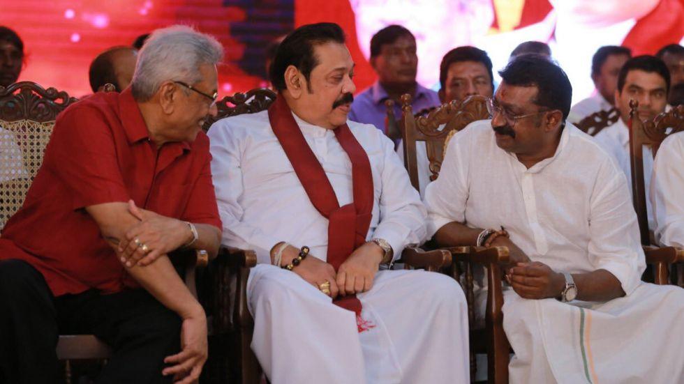 Sri Lanka New President Gotabhaya Rajapaksa and Mahindra