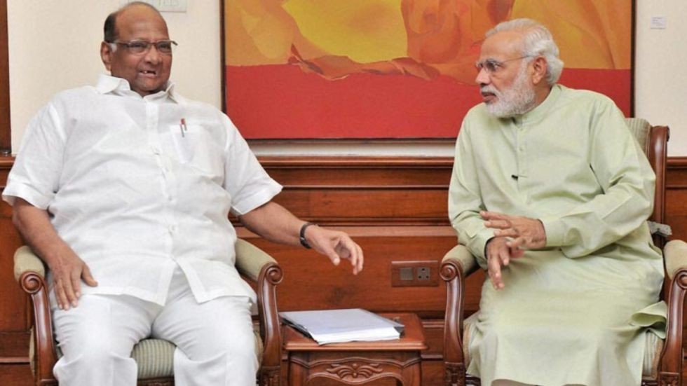 Maharashtra: Sharad Pawar to meet PM Modi today over farmers' issues amid political impasse in state