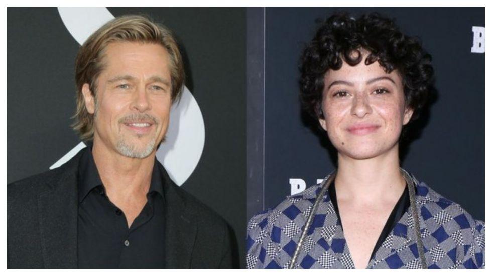 Fans Think Brad Pitt And Alia Shawkat Are Dating