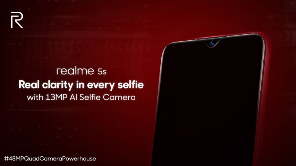 Realme 5s To Be Launched In India TODAY