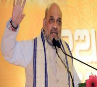 Union Minister Amit Shah Accuses Congress Of Stalling Ayodhya Judgement