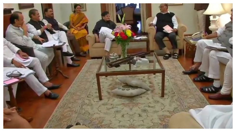 Congress and Nationalist Congress Party (NCP) leaders hold meeting at NCP chief Sharad Pawar's residence