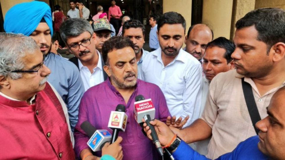 """Sanjay Nirupam said it would be a """"mistake"""" on the part of his party if it joins the Shiv Sena-led government being planned in Maharashtra"""