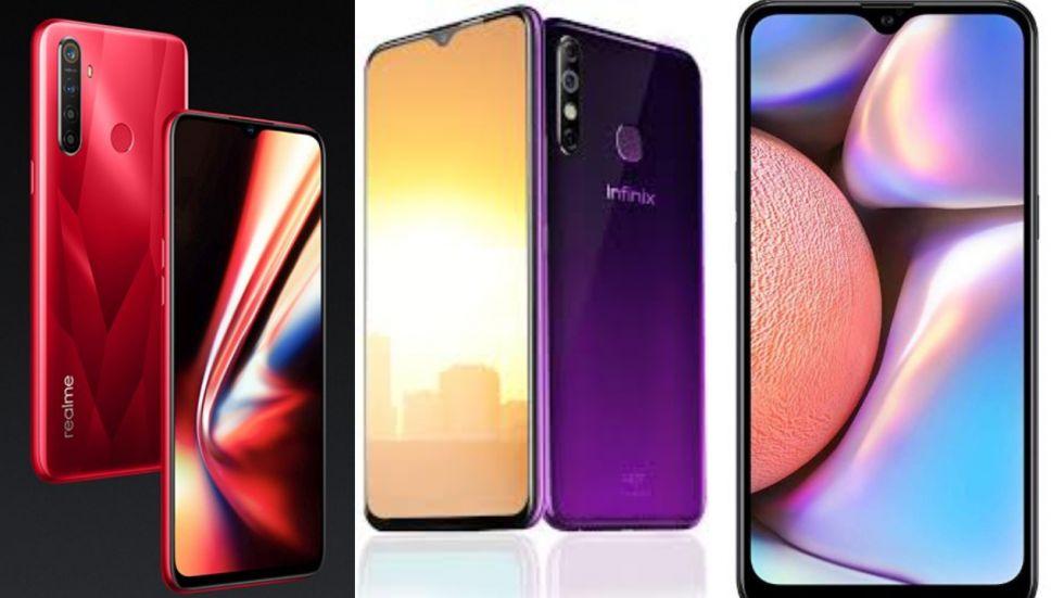 Realme 5s Vs Infinix S5 Vs Samsung Galaxy A10s