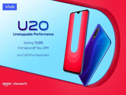 Vivo U20 Goes Official In India: Specs, Features, Price Inside