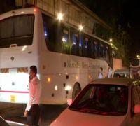 Maharashtra Politics: NCP MLAs Arrive At Renaissance Hotel In Mumbai