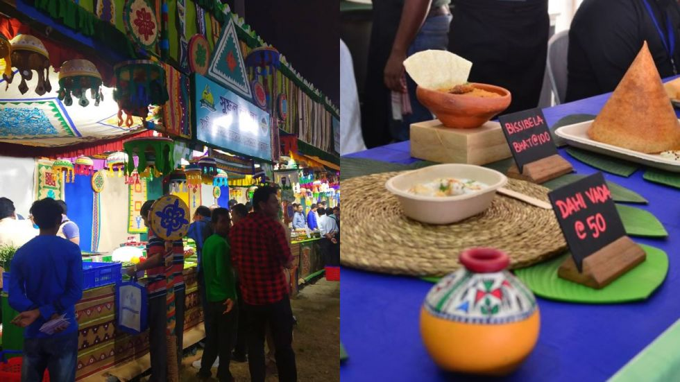 Over 100 varieties of flavoured rosogollas were up for grabs at a stall in 'Ahare Bangla'.
