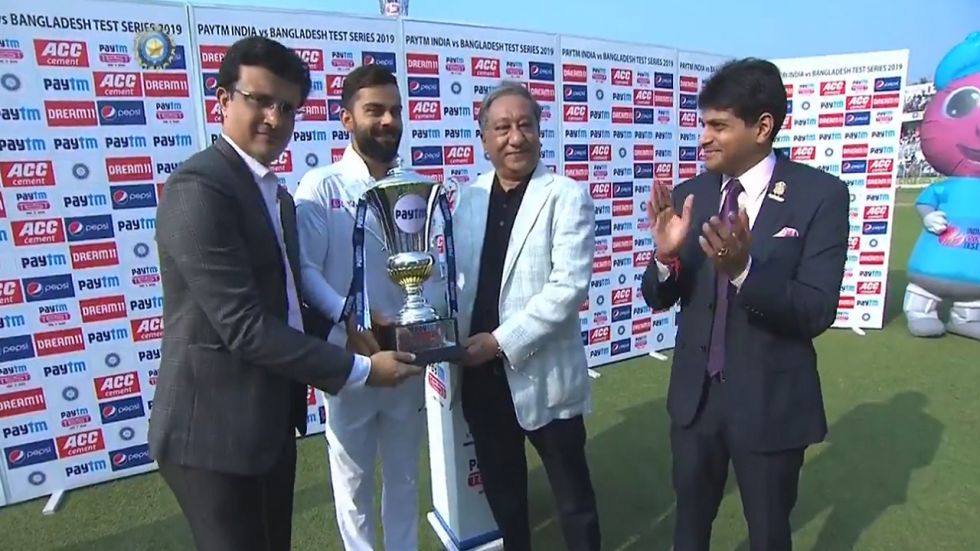Kohli said his team was only taking forward the emerging triumphant in Tests that began in the era of Ganguly.