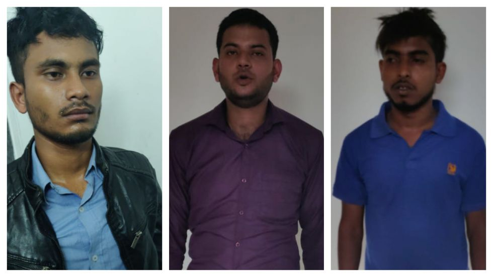 The three suspected terrorists were planning to carry out attack in Assam and Delhi.