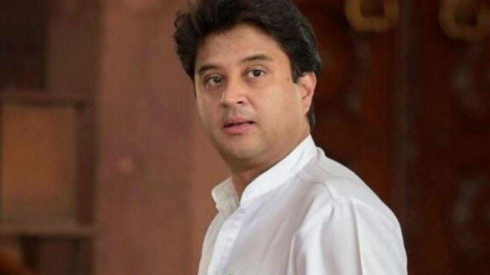 Jyotiraditya Scindia removes Congress from Twitter bio