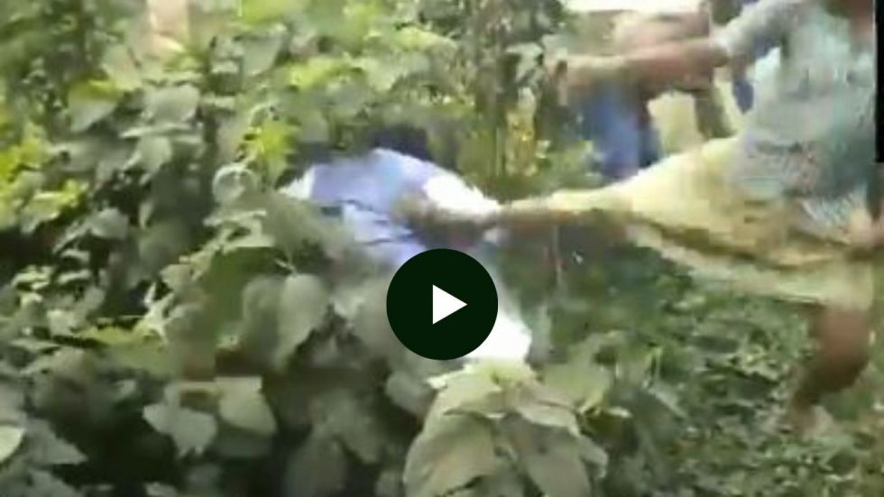 Bengal Bypolls: Trinamool 'workers' caught on camera punching, thrashing BJP's Karimpur candidate