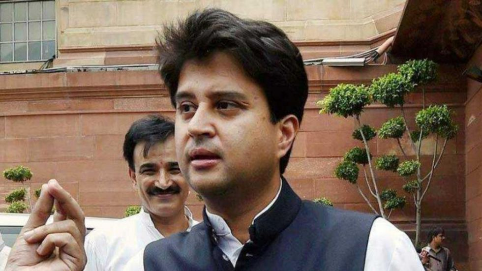 Here's Why Jyotiraditya Scindia Removed Congress From His Twitter Bio