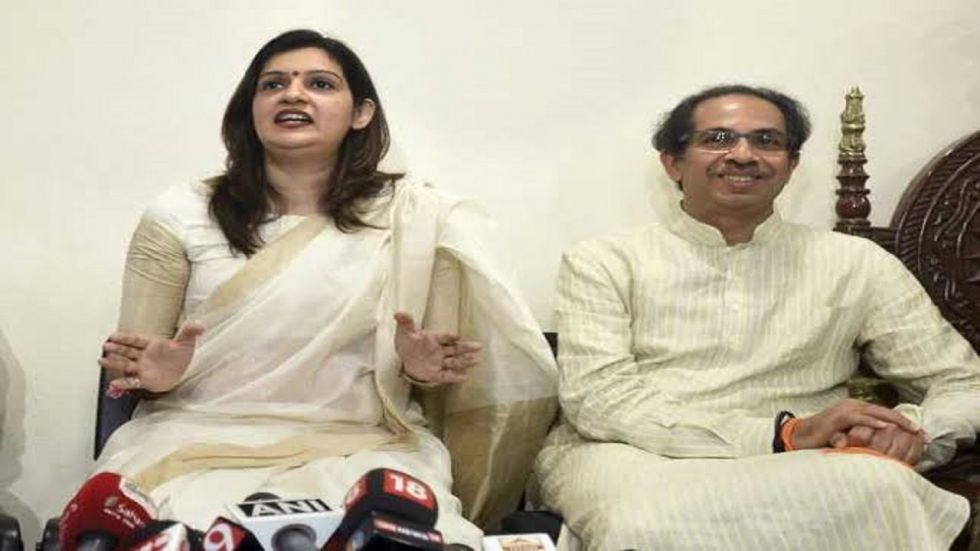 Shiv Sena leader Priyanka Chaturvedi's tweet comes after BJP sources claimed that there were not more than 120 MLAs at the meeting.