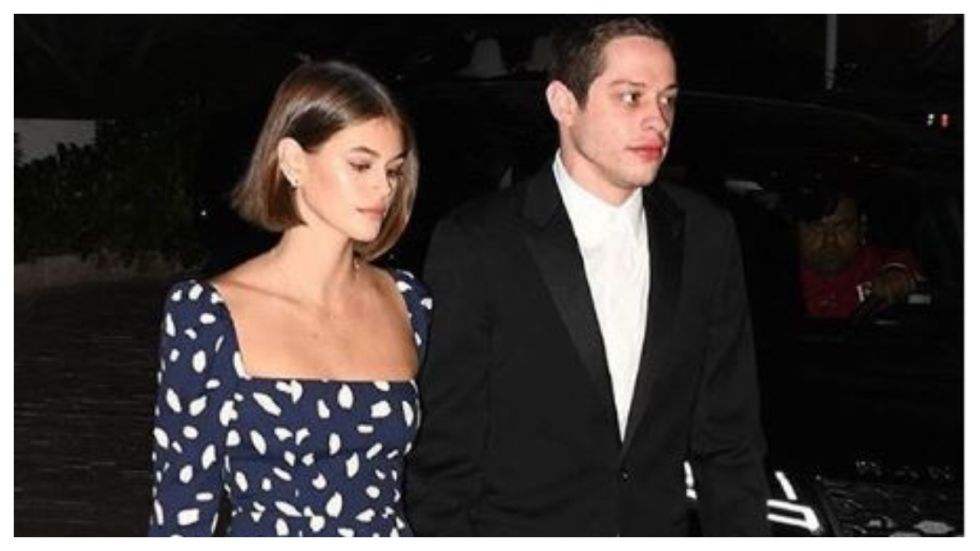 Pete Davidson And Kaia Gerber Engages In Steamy PDA Moment At Miami