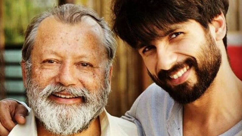 Saw Shahid's potential when people judged him as chocolate hero: Pankaj Kapur