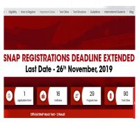 SNAP 2019 Registration Dates Extended, Apply At snaptest.org, Check Details Here