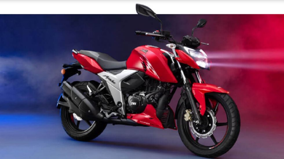 TVS Motor Company Launches TVS Apache RTR 200 4V And 160 4V