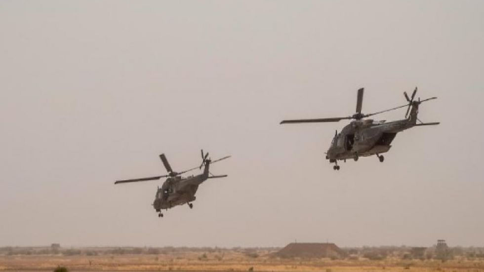 Two helicopters collided during an operation against terrorists in Mali.
