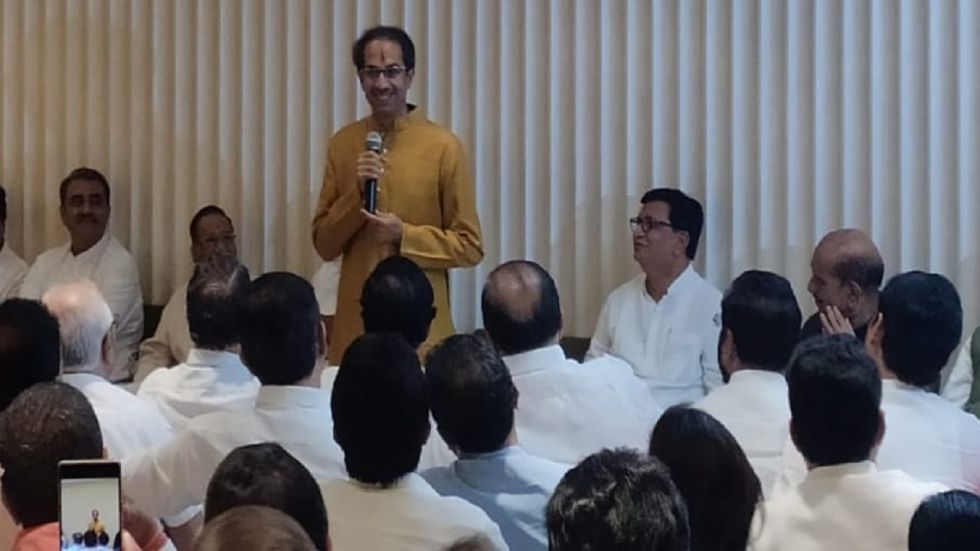 Uddhav Thackeray also thanked Sonia Gandhi for extending her support to Shiv Sena.