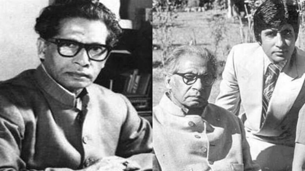 Remembering Harivansh Rai Bachchan on his birth-anniversary