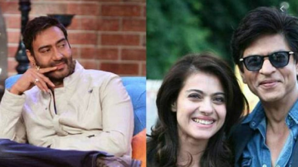Would Kajol Have Married SRK If Ajay Devgn Wasn't In The Picture