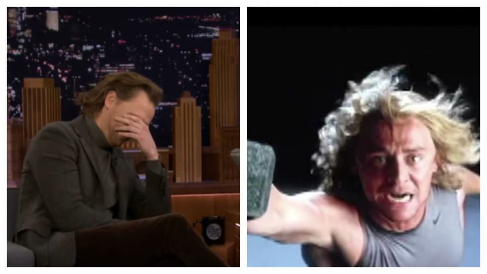 Tom Hiddleston's Reacts To His Super Awkward Audition For Thor