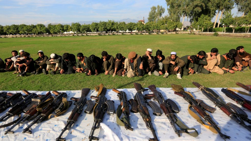 Around 900 ISIS followers surrendered before Afghan security forces in Nangarhar.