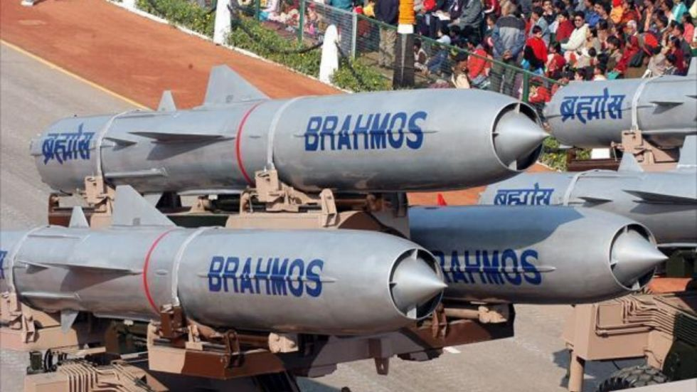 BrahMos supersonic cruise missile successfully test-fired by Indian Navy, reports ANI