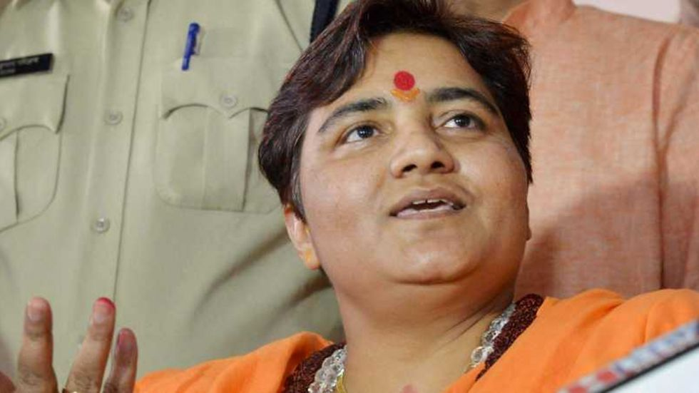 Pragya Thakur had also claimed that the then Maharashtra ATS chief Hemant Karkare, who was martyered in the 26/11 Mumbai terror attacks, lost his life due to her