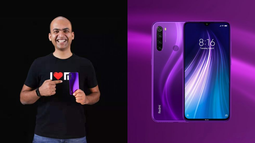 Redmi Note 8 Cosmic Purple colour variant Goes Official In India