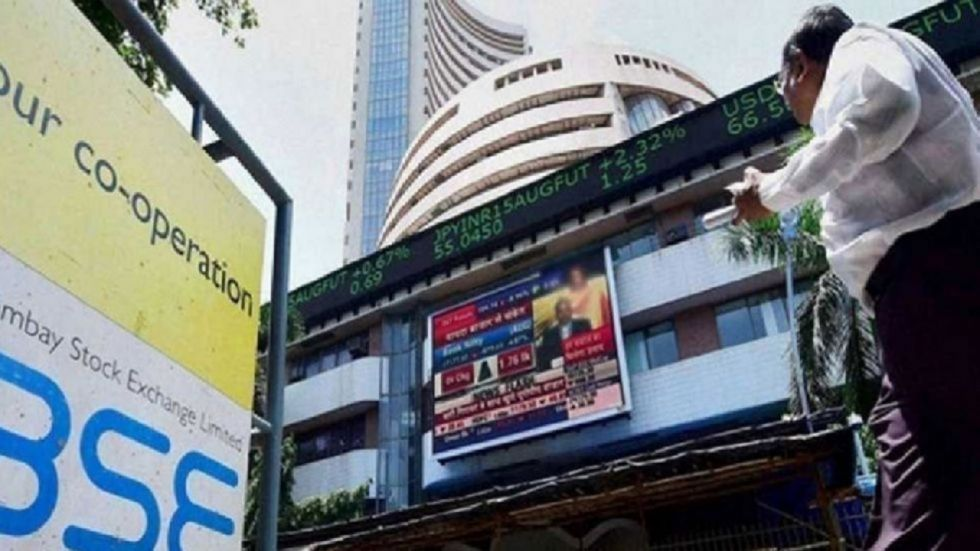 Sensex jumps 141 points to 41,161.54, Nifty at 12,132