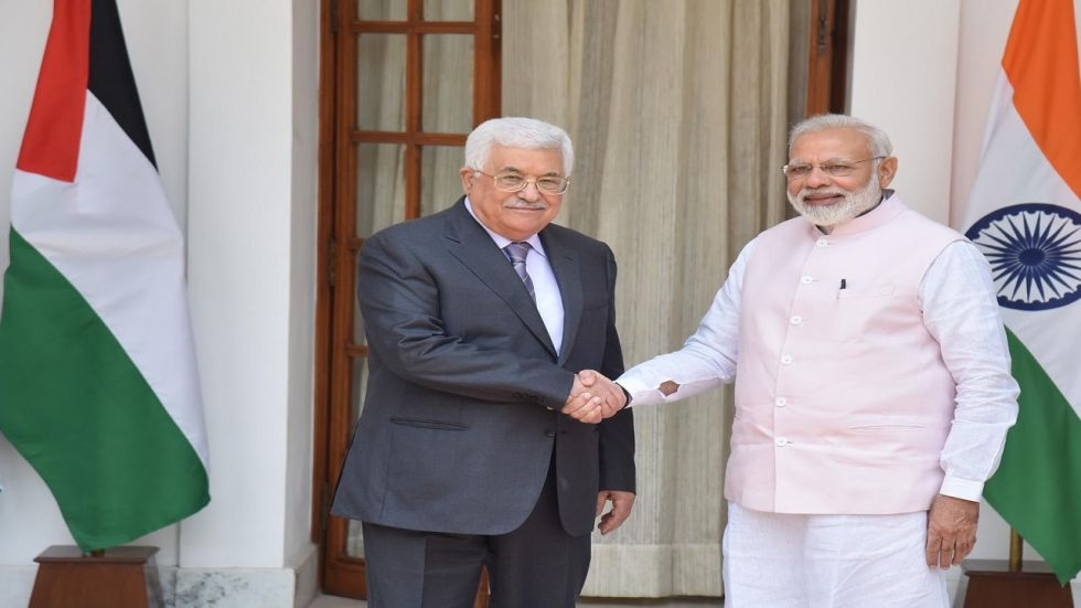 During Modi's historic visit to Palestine, the two sides had signed agreements worth around USD 50 million that included setting up of a USD 30 million super speciality hospital.