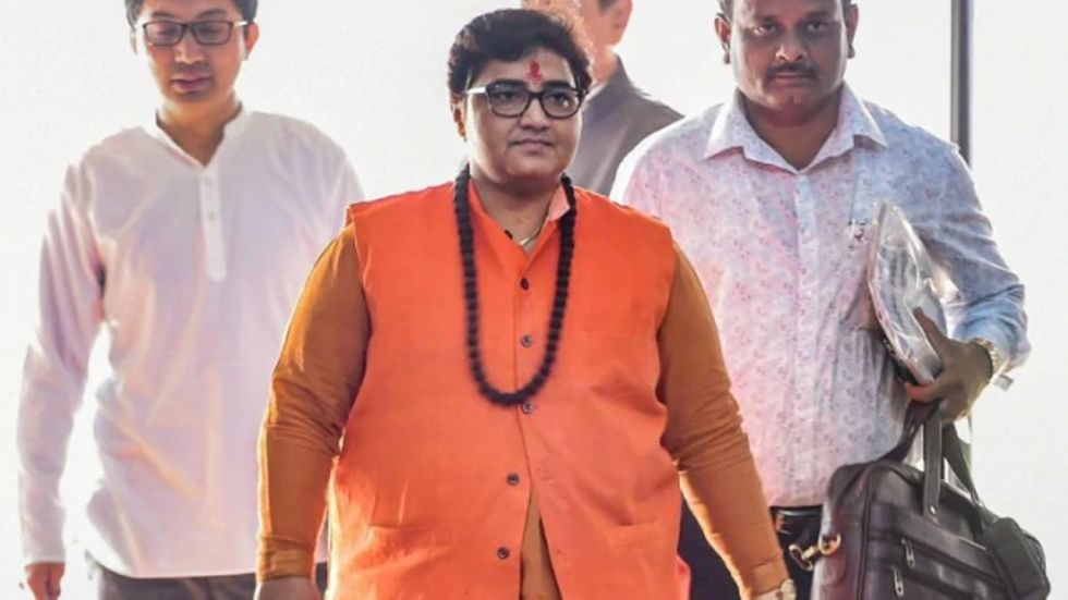 BJP Lok Sabha MP Pragya Singh Thakur