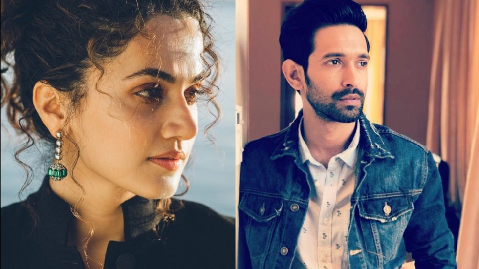 Taapsee Pannu To Romance Vikrant Massey For Upcoming Thriller By Vinil Mathew
