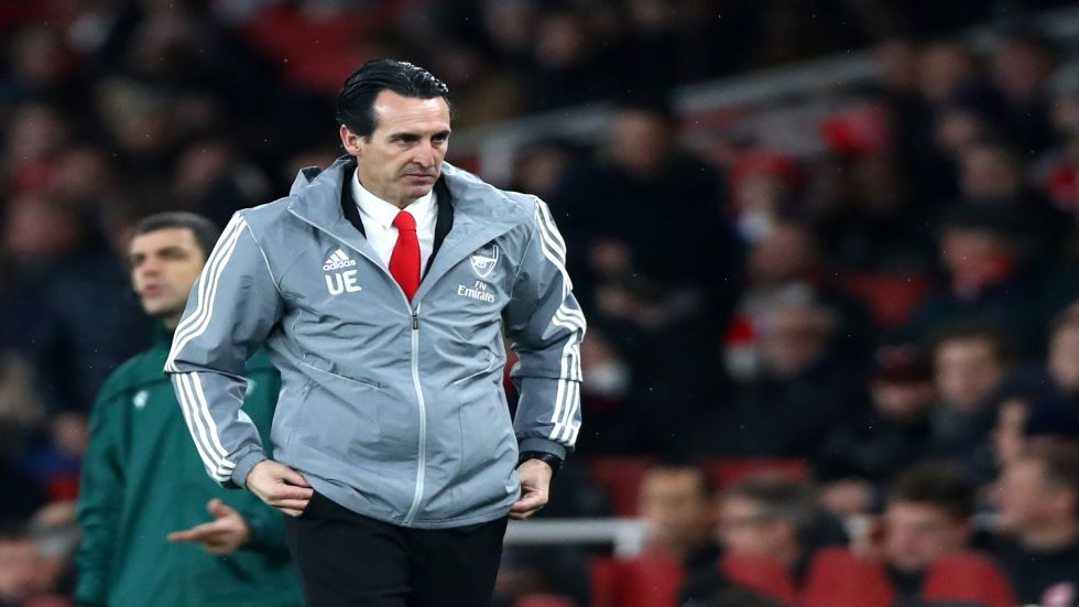 Unai Emery's sacking comes after Arsenal fans had demanded