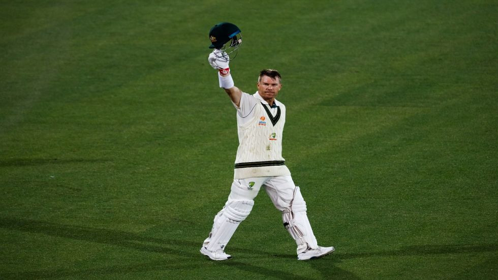 David Warner's average against Pakistan is now close to 90 as he continued his good form.