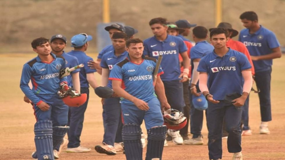 Afghanistan U-19 Team Stuns India In Youth ODI