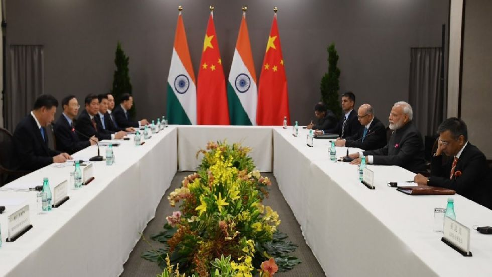 The Think-Tanks Forum was established between the two countries during Prime Minister Modi's visit to China
