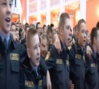Watch: Russian Military Cadets Sing Indian Patriotic Song 'Aye Watan, Aye Watan' In Moscow