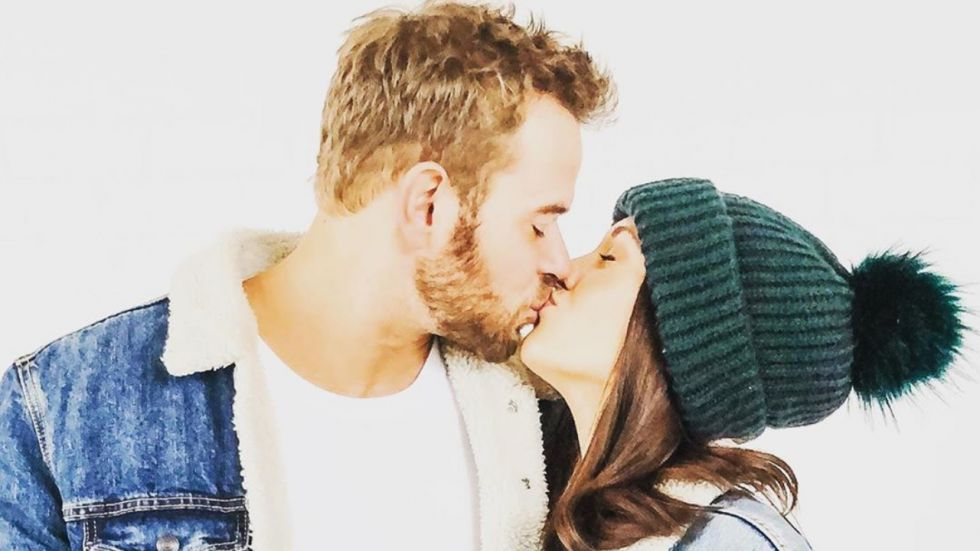 Kellan Lutz and his wife Brittany Gonzales