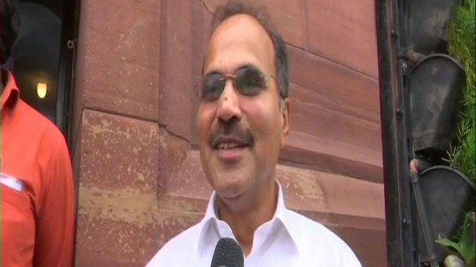 Adhir Ranjan Chowdhury said India belongs to everyone and both PM Modi, Amit Shah are 'intruders'