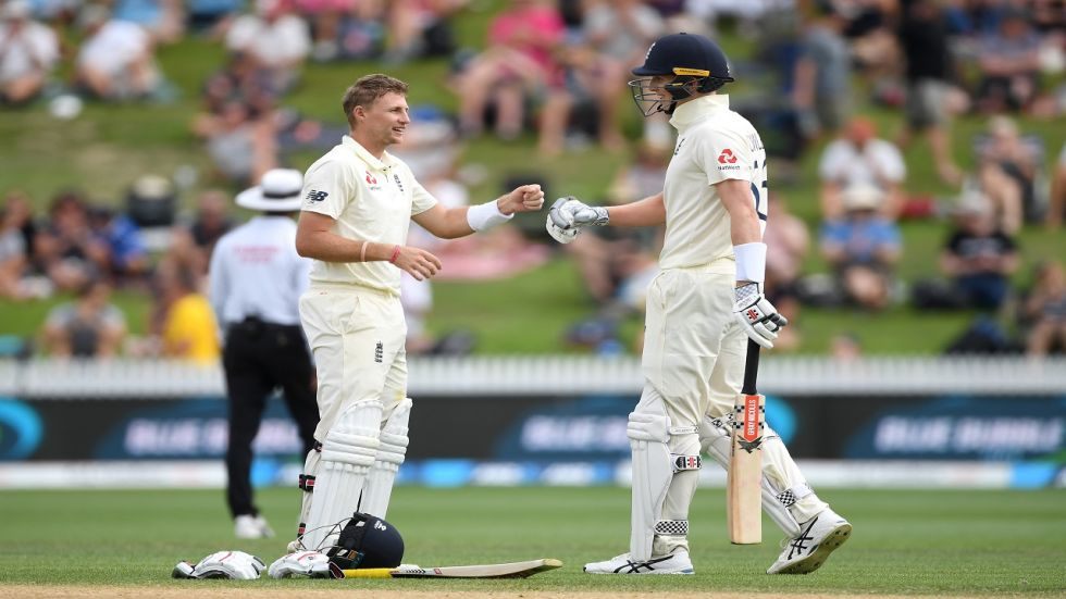 Joe Root scored his first Test ton after nine months and it was his first century in New Zealand.