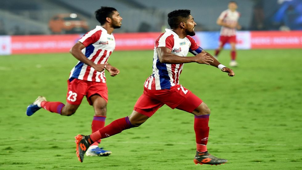 ATK captain Roy Krishna who capitalised on a defensive lapse to score from probably the last kick of the game and gain a point for the home side that kept their unbeaten home record intact.