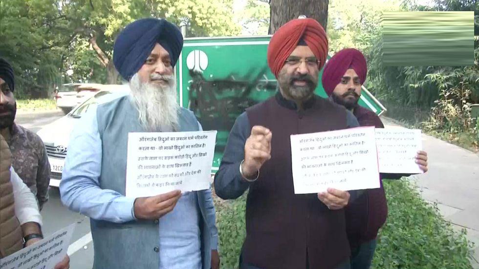 Shiromani Akali Dal (SAD) MLA Manjinder Singh Sirsa
