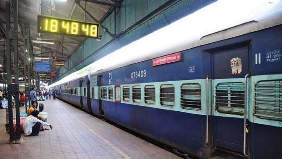 The 12611 Chennai-Nizamuddin Express was halted at Nagpur station in Maharashtra on Saturday night for over an hour.