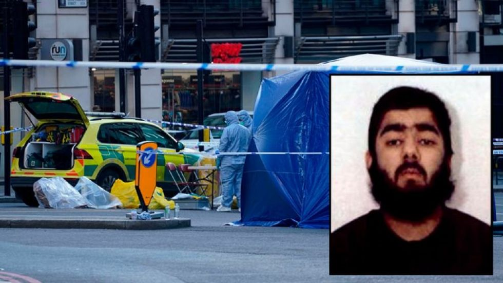 The ISIS claimed the responsibility for Usman Khan's knife rampage on the streets of London on Friday via its Amaq news agency in a post on Saturday.