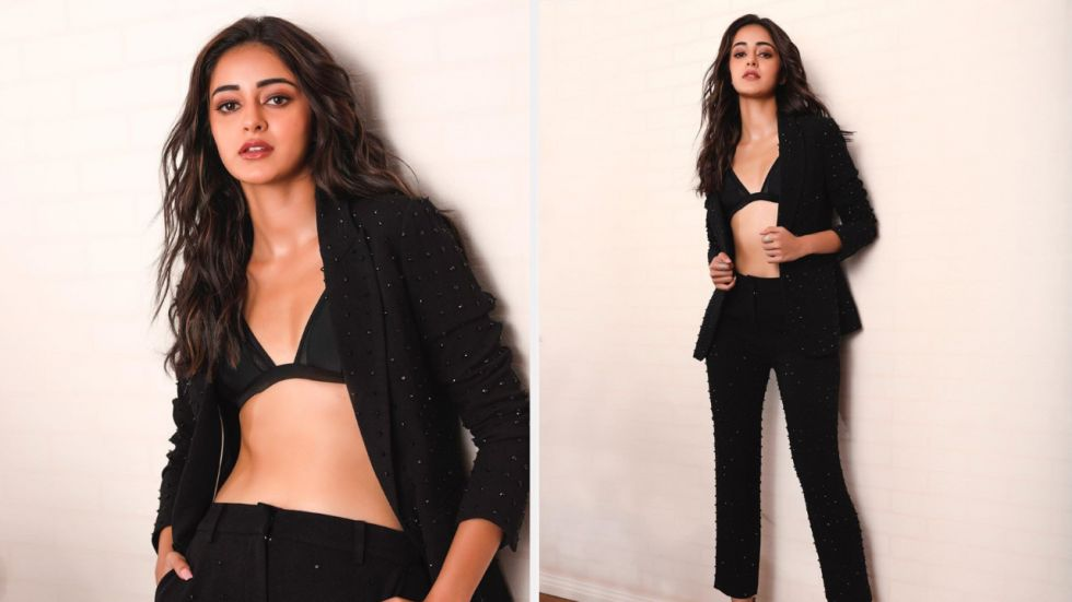 Ananya Panday is currently busy promoting Pati Patni Aur Woh.