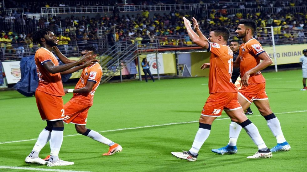 A late goal from Lenny (90+3') denied Kerala Blasters a win and they are now in eighth spot with five points.